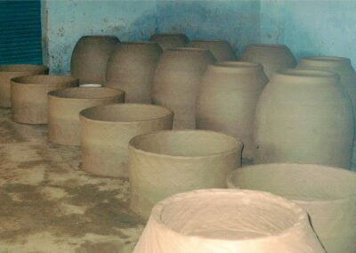 Initial stage of Tandoor oven manufacturing