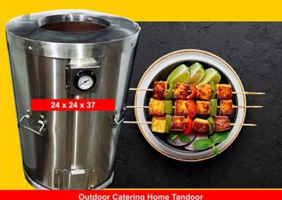 Outdoor Home Tandoor 24x24x37